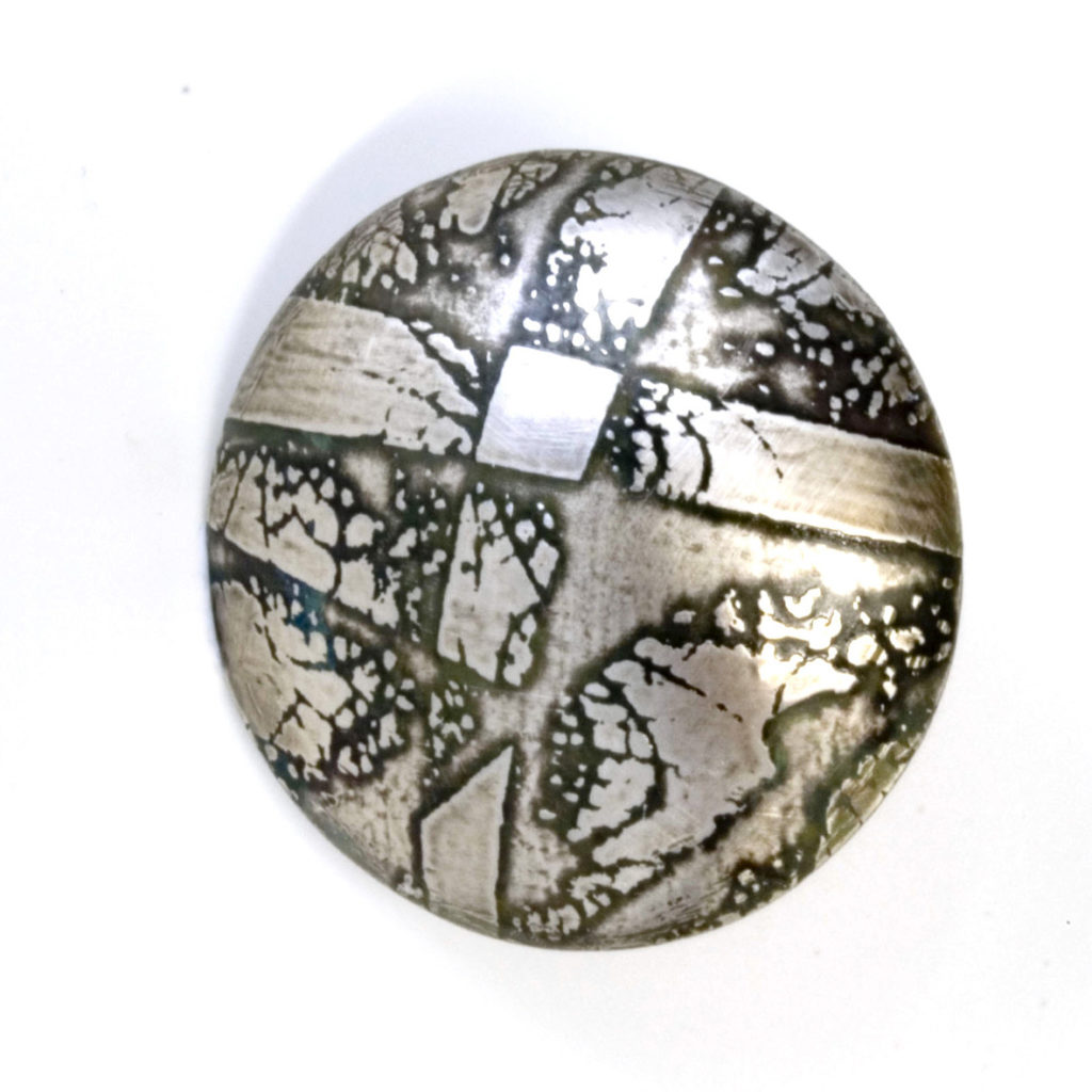 Etched Brooch